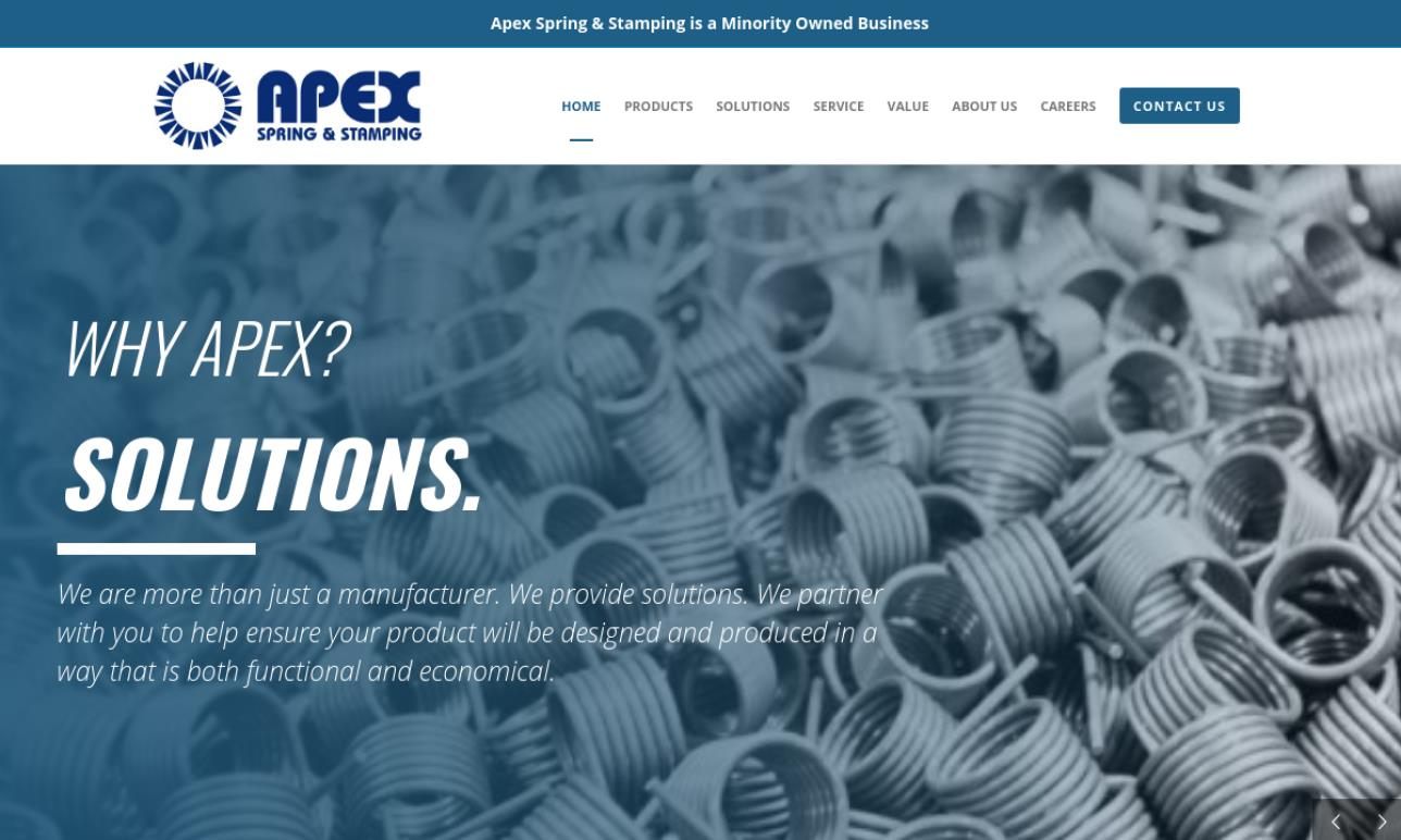 Apex Spring & Stamping Corporation