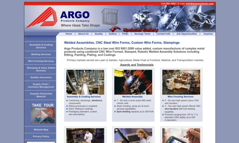 Argo Products Company