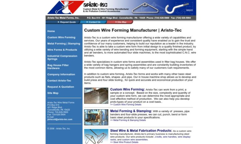 Aristo-Tec Metal Forms Inc.