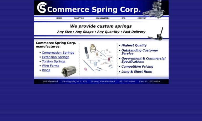 Commerce Spring Corp.
