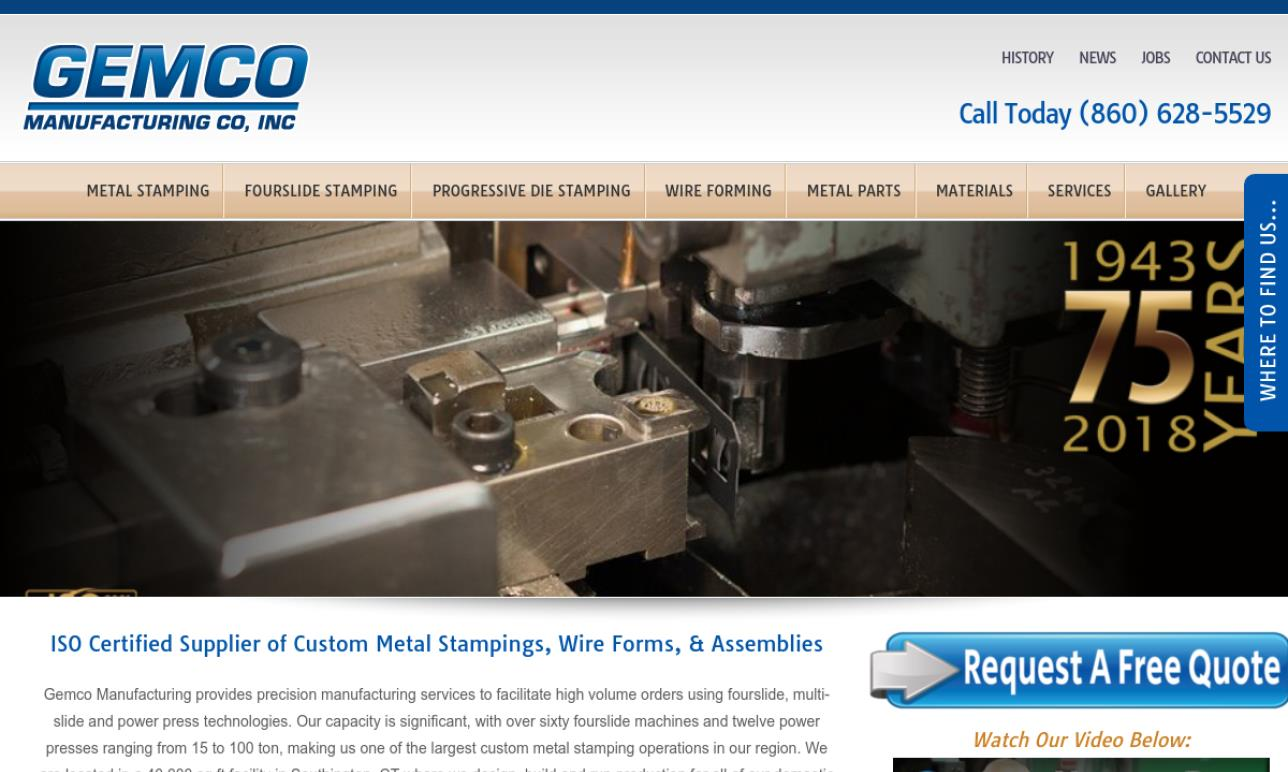 GEMCO Manufacturing Co., Inc.