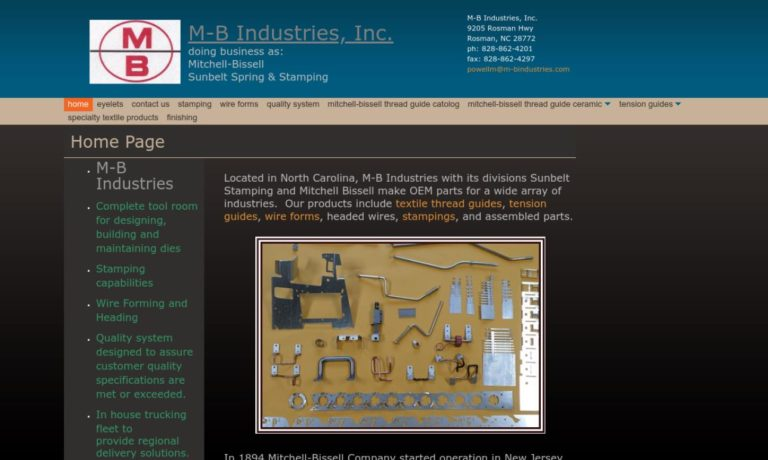 M-B Industries, Inc.