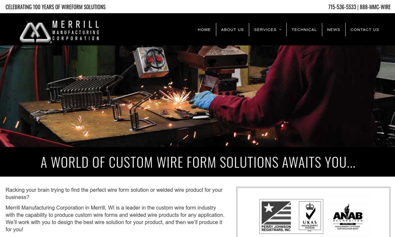 Merrill Manufacturing Corporation