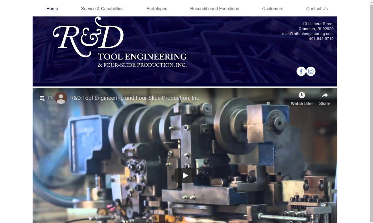 R & D Tool Engineering & Four-Slide Production, Inc.