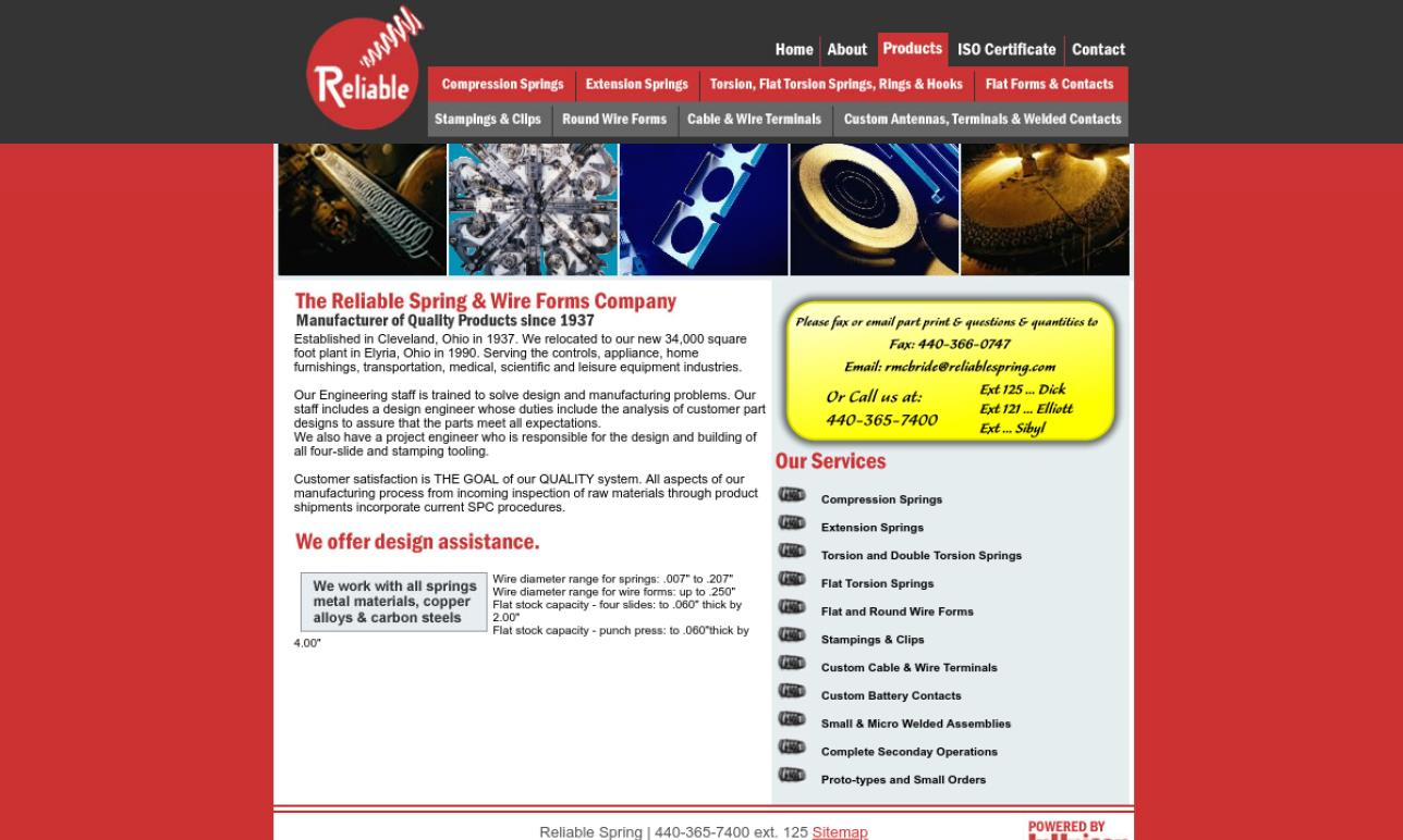 Reliable Spring & Wire Forms Company