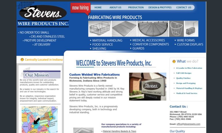 Stevens Wire Products, Inc.