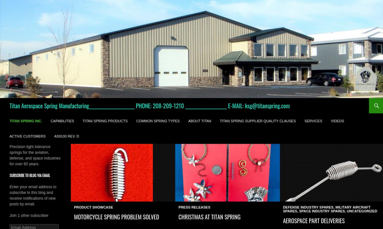 Titan Spring & Wire Products Inc.