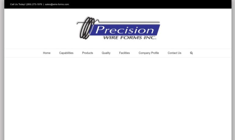Precision Wire Forms, Inc.