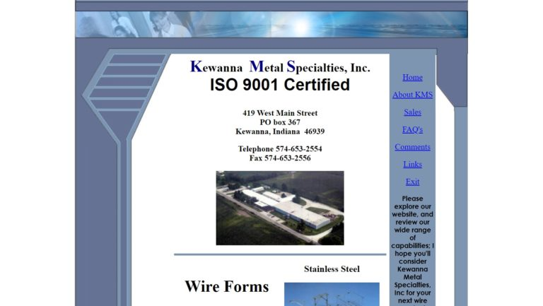 Kewanna Metal Specialties, Inc.
